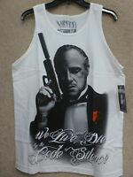 Mafioso Men's Tank Top silencer Color White
