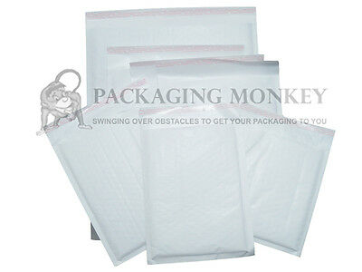 *SPECIAL PRICE* A5 Size 50 x White Padded Bubble Envelopes Bags 170x245mm EP4