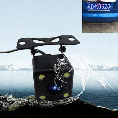 Car 170°Wide-angle IR Night Vision 4 LED Rear View Backup Reverse Parking Camera