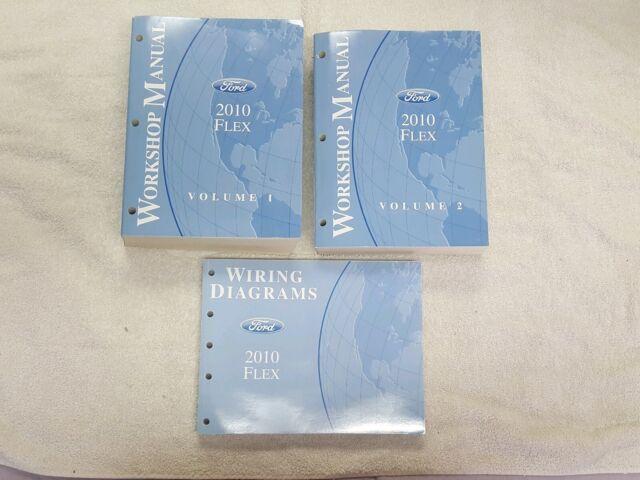 2010 Ford Flex Repair Shop Manual Volume 1  2  U0026 Electrical
