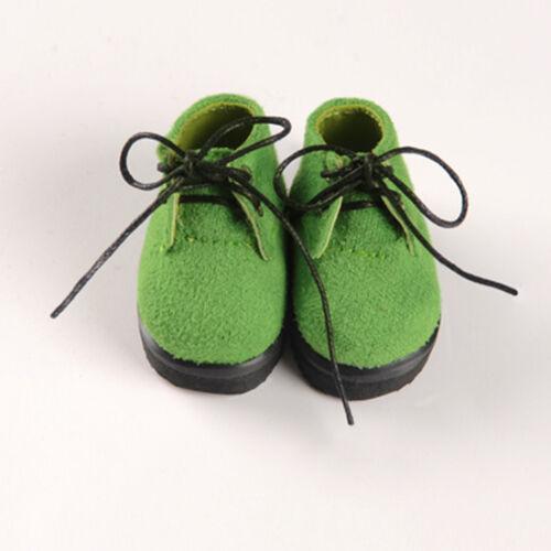 Dollmore Yanso Shoes 1//6 BJD YOSD USD Dear Doll Size Green