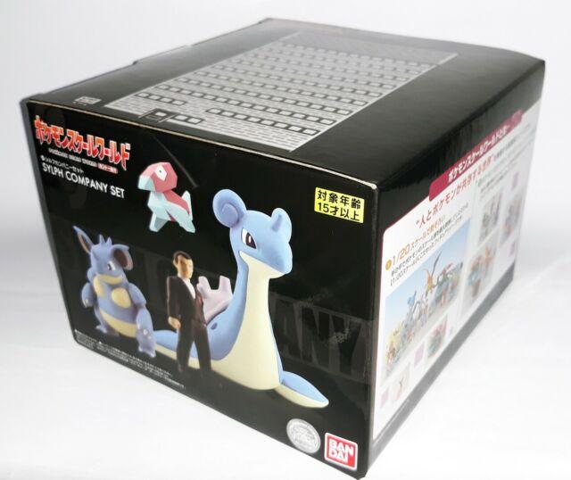 Premium Bandai Pokemon Scale World Kanto SYLPH company set PRESALE