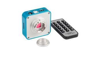 Mp tv hdmi usb industry digital c mount microscope camera ebay