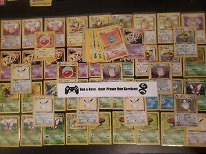 JUNGLE-SET-Pokemon-Collection-WOTC-Lot-Holo-Rare-OLD-VINTAGE-CARDS