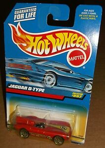 Hot Wheels Brand New and Sealed Jaguar D-Type 1998