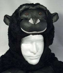 Halloween Costume Gorilla Child Large Vest Hoodie Hood Ape