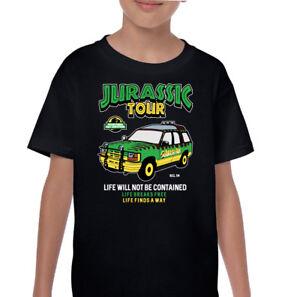 Jurassic Park T-Shirt Kids Tour Vehicle Funny Dinosaur ...