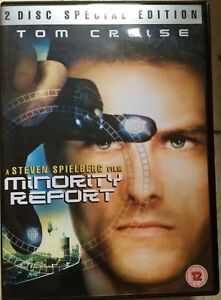 Tom-Cruise-MINORITY-REPORT-2002-Steven-Spielberg-Sci-Fi-Film-UK-2-Disc-DVD