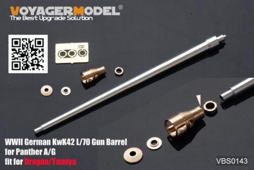 Voyager Models 1//35 WWII German KwK42 L//70 Gun Barrel for Panther A//G