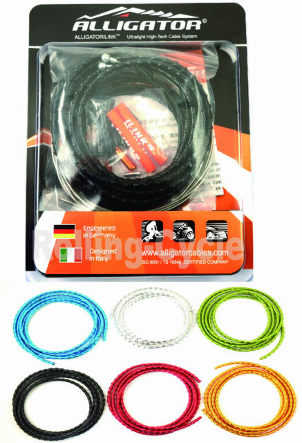 Silver vs Nokon New Alligator I-Link cable set kit 4mm SHIFT GEAR
