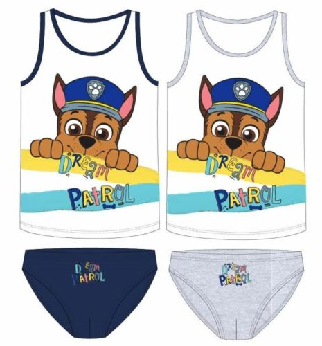 Paw Patrol biancheria intima Set Set da 98 104 110 116 122 128 Slip bambini Ryder