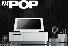Star Micronics MPOP Terminal Printer Cash Drawer Tablet Stand White for Ipad NEW