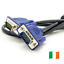 thumbnail 1 - 1-5M-VGA-SVGA-Monitor-Cable-PC-TV-LAPTOP-Male-to-Male-D-SUB-15-PIN-0162