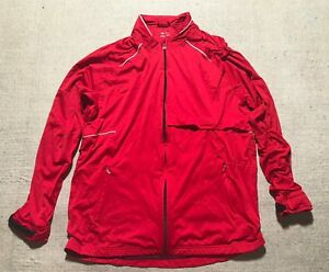 Details about Adidas Climaproof Full Zip Mesh Lined Polyester Jacket Men's  Size L #J1