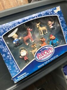 Rudolph-Holiday-Clip-on-Collection-In-Original-Retail-Box-From-KB-toys-Store