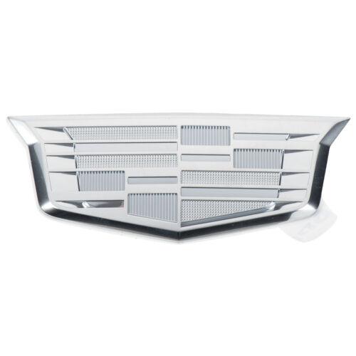 OEM Front Passenger Side Fender Cadillac Emblem Chrome 16-19 CT6 XT5 84056212