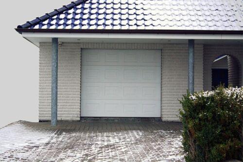 Tore,Garagentor,Sektionaltor,Garagentore,Tor 3040 X 2180 mm,weiß Kassette Neu