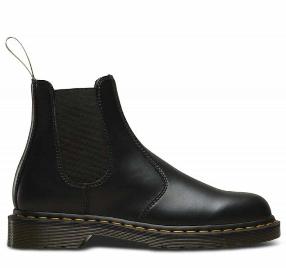 Dr. Martens 2976 Vegan Black Chelsea Boots Boots Shoes Mens 21456001