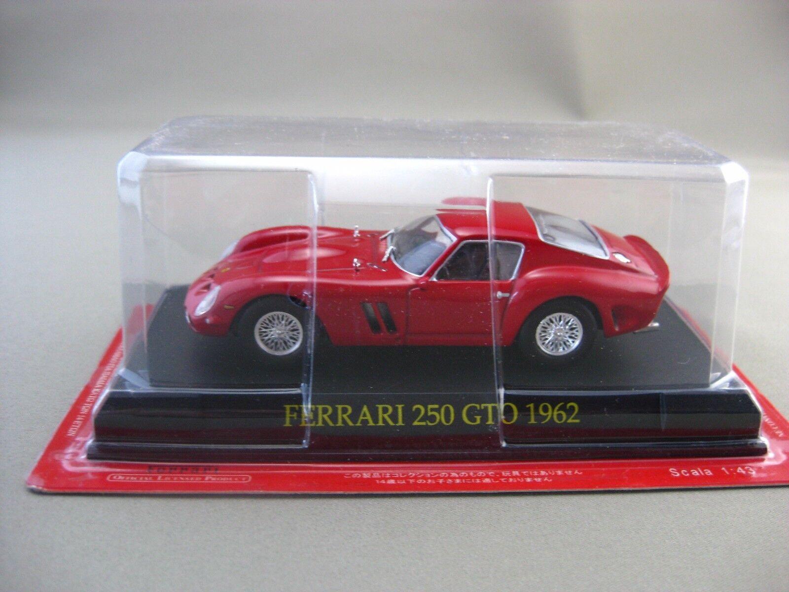 spedizione veloce a te Ferrari 250 GTO 1962 hachette 1 1 1 43 Diecast auto Vol.13  vendita online
