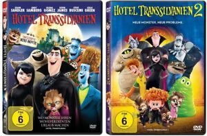 DVD-Set-Hotel-Transsilvanien-1-2-I-amp-II-deutsch-neu-und-ovp-neue-Monster