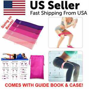 Resistance-Bands-Workout-Loop-Set-5-Legs-Exercise-CrossFit-Fitness-Yoga-Booty