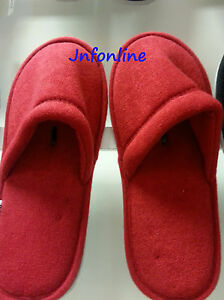 dcd465a5782 Brand new IKEA Red color slippers -- L XL or S M -- Unisex