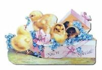 Victorian Turn Of The Century Valentine Easter Card You're Special Chick Mag123