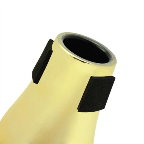 Practice Straight Cup Dämpfer für Tenor Posaunen Teile Golden 13,2 cm