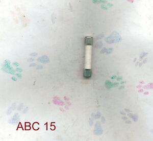 NEW-BUSSMAN-ABC15-FUSE-15-AMP-250-V0LT-ABC-15-FUSE