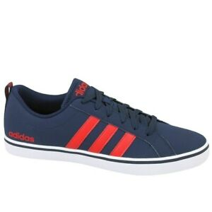 Shoes Universal Men Adidas VS Pace B74317  Red,Navy blue