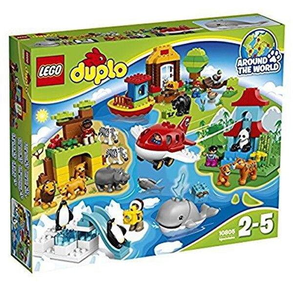 Duplo Animal Around the World set 10805 LEGO Toy Japan import New Free Shipping