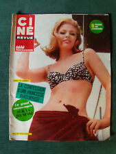 CINE TELE REVUE - 8 juin 1967 - 40 pages - Ira de Furstenberg, David Hemmings