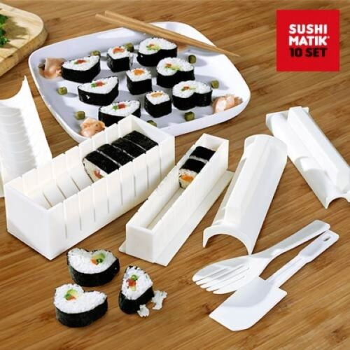 Sushi MATIK sushi Maker sushiformen verduras patata queso o carne olas