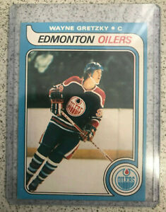 1979-80-O-Pee-Chee-Wayne-Gretzky-Rookie-034-REPRINT-034-Card-18-Nrmt-to-Mint