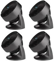 (4) Vornado Cr1-0116-06 533 7 3 Speed Compact Electric Fan / Air Circulators
