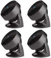 (4) Vornado Cr1-0116-06 533 7 3 Speed Compact Electric Fan / Air Circulators