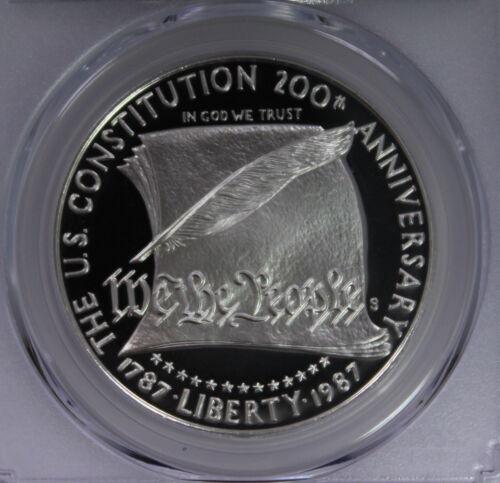 1987-S $1 Constitution PCGS PR70DCAM Proof Coin