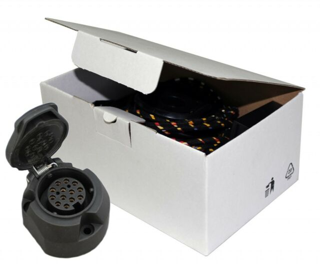 RC Towbar Electrics For Vauxhall Zafira (C) Tourer 2012 On 13 Pin Wiring Kit