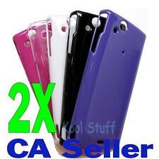 2X Polycarbonate Hard Case Sony Ericsson XPERIA Arc X12