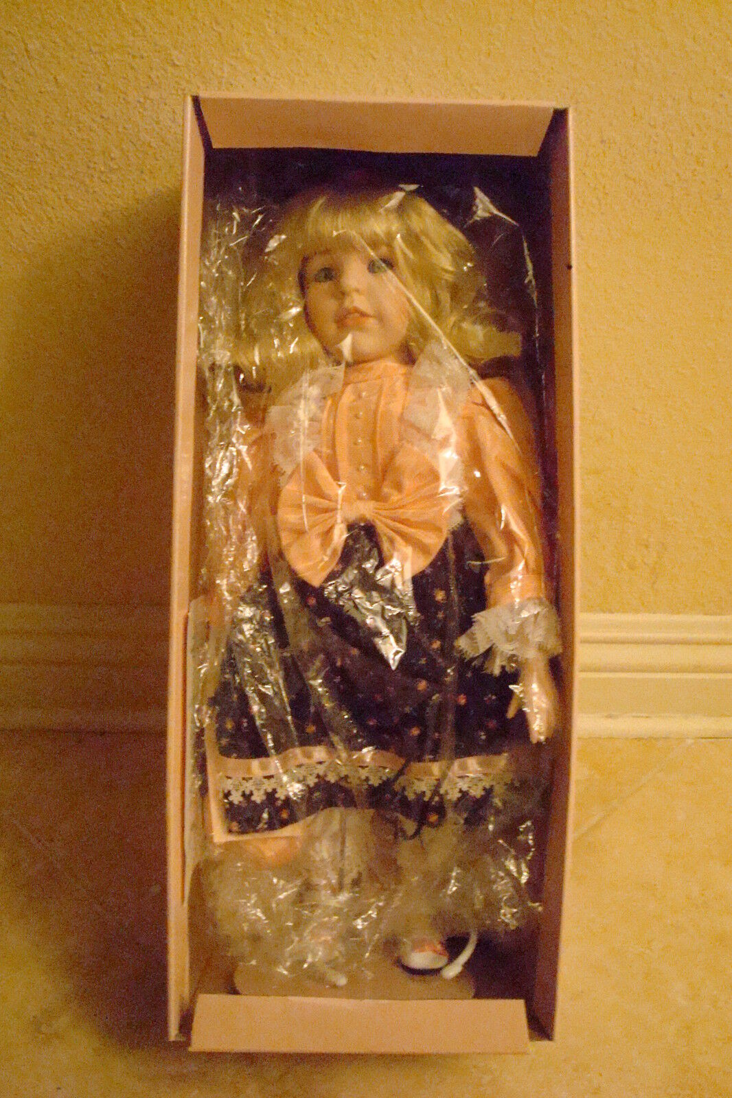 Carol Anne Dolls LE  PUMPKIN    25 1000 by Bette Ball Exclusively for GOEBEL