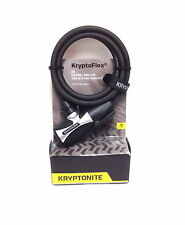KRYPTONITE KRYPTOFLEX 815 KEY BIKE BICYCLE CABLE LOCK NEW 8MM X 5 FT NEW