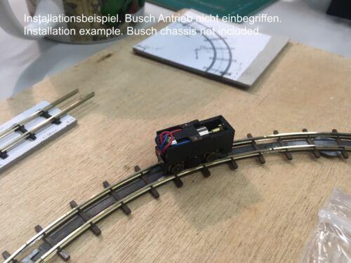 Busch H0f 12v Glockenanker Motor ersatz 6x15 mm Fährt damit endlich perfekt.