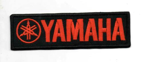 For Yamaha Motorcycle Sport Racing P112 Embroidered Iron on Patch High Quality