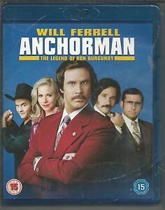 ANCHORMAN-Will-Ferrell-UK-BLU-RAY-mint-condition-as-new-unplayed