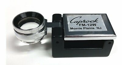 CAPROCK 20X LOUPE 20 POWER PRINTER/'S FOLD-OUT MAGNIFIER LOUP