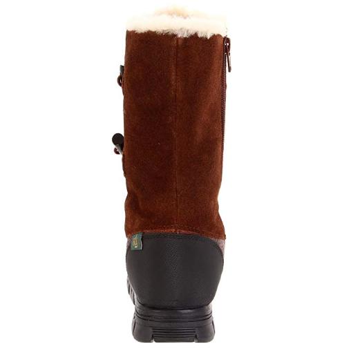 Ralph Lauren Quintessa Gamuza Cuero Invierno Marrón botas Invierno Cuero Nieve De Vellón 5 5.5 44f1a5
