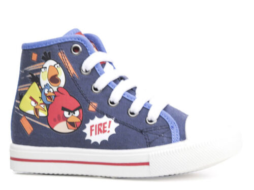 NEW Sneaker Casual Shoes Loafers Boys Shoes Angry Birds Blue 28-35 #16