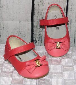 BALLERINAS riemchen sandalen Baby Kleinkind lachsmelone Gr