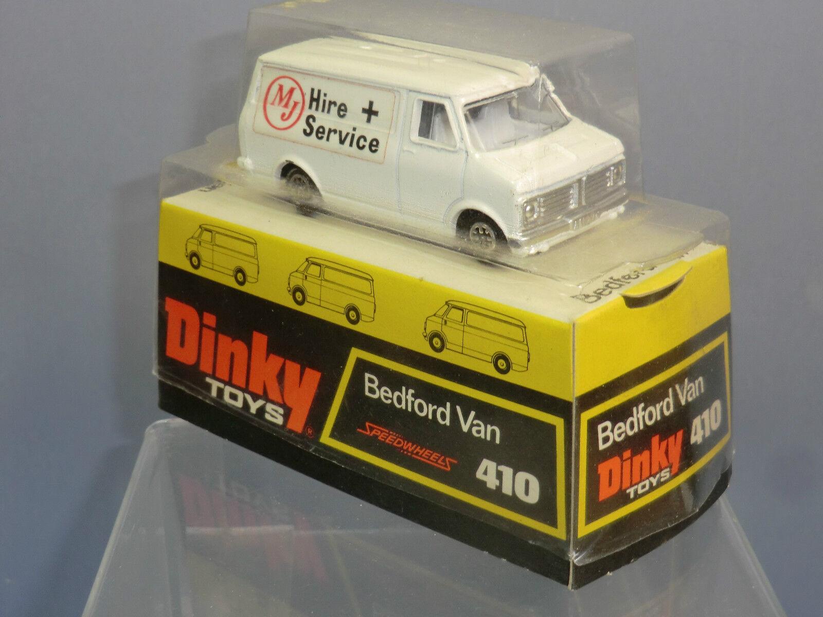 Dinky Juguetes Modelo No.410 Bedford CF  MJ  contratar a + servicio (Versión Zócalo Box) MIB