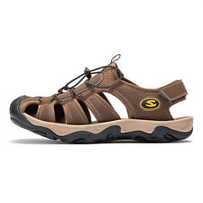 c5b36bb16444 item 5 Men s Summer Hiking Leather Sandals Wading Closed Toe Fisherman Soft Beach  Shoes -Men s Summer Hiking Leather Sandals Wading Closed Toe Fisherman ...
